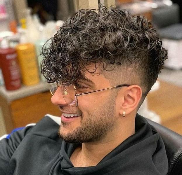 Kurze haare männer dauerwelle Kurze Haare